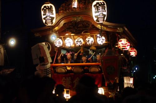 熊谷うちわ祭り鎌倉