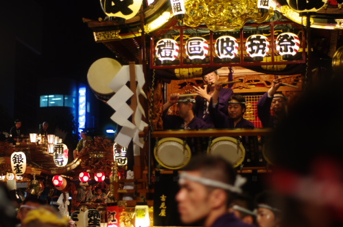 熊谷うちわ祭り筑波