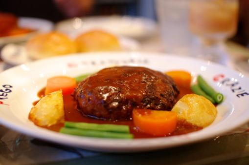 トラトリアキクチブラウンソースハンバーグ