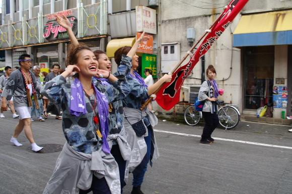 吉原祇園祭2012六軒町神輿