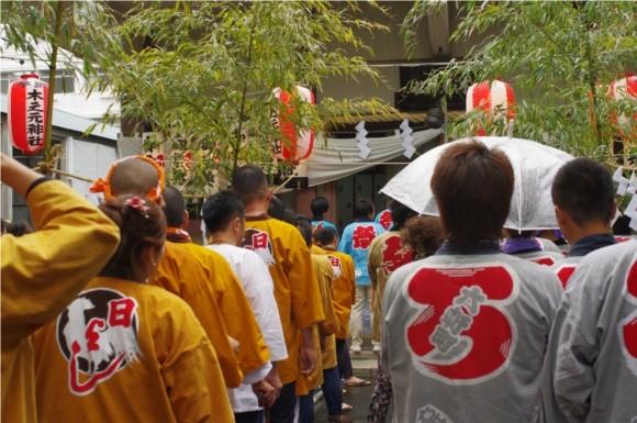 吉原祇園祭2012木之本神社