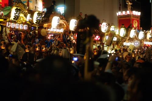 熊谷うちわ祭り夜