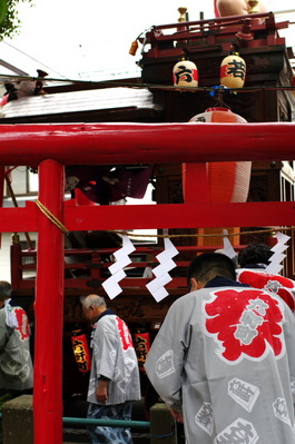木之元神社でお参り