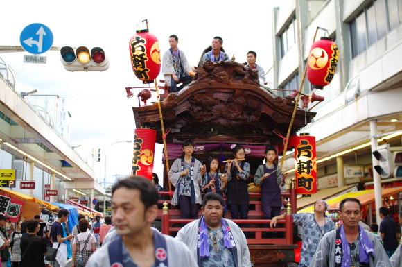 吉原祇園祭2012六軒町山車