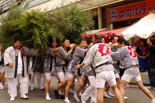 吉原祇園祭六軒町神輿