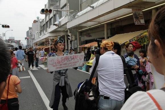 吉原祇園祭商店街占拠撮影六軒町