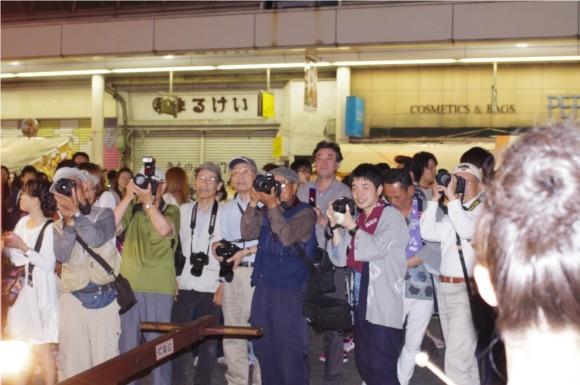 吉原祇園祭2012カメラ小僧