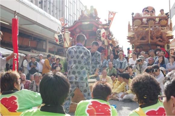 吉原祇園祭2012宮太鼓