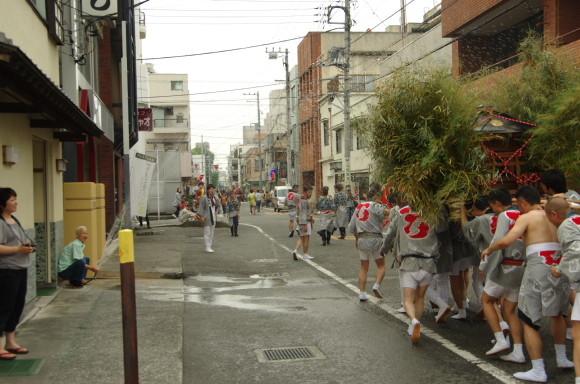 吉原祇園祭2013神輿六軒町