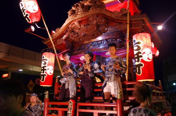 吉原祇園祭2013六軒町山車