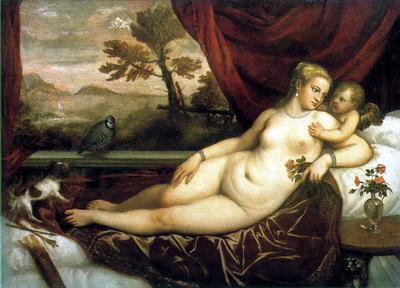 Venus-and-CupidWithaPartidgebyTizianoVecellio