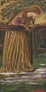 Edward Burne-Jones 「The Blessed Damozel」