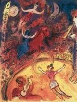 Le cirque Marc Chagall