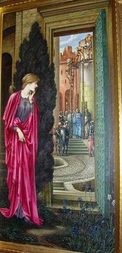 The Tower of Brass (Danae) - Edward Burne-Jones_350