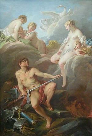 Vénus demande à Vulcain des armes pour Énée