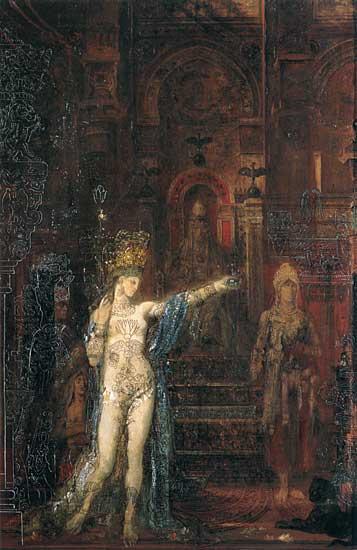 Gustave Moreau -  Salomé Tattooed