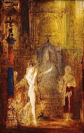 ヘロデ王の前で踊るサロメ 1876