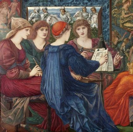 Laus Veneris (1869), Laing Art Gallery,British Pre-Raphaelite artist Edward Burne-Jones