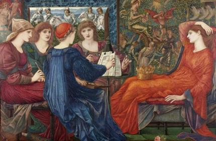 Laus Veneris by Edward Burne-Jones_kafka