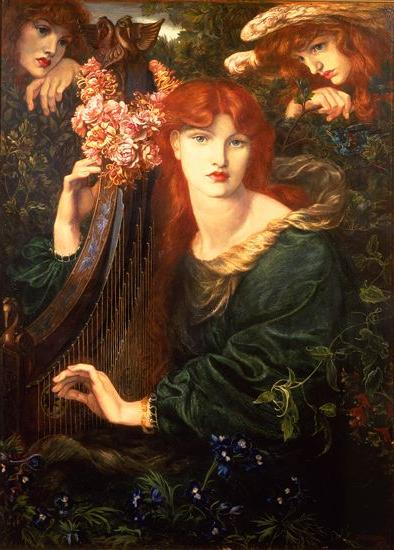 La Ghirlandata 1873  Guildhall Art Gallery, London