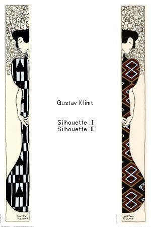 Gustav Klimt_Silhouette