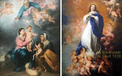 La Inmaculada/The Holy Family