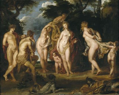 The Judgement of Paris by Rubens, Peter Paul