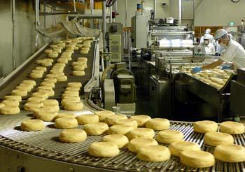 マクドナルドパン工場