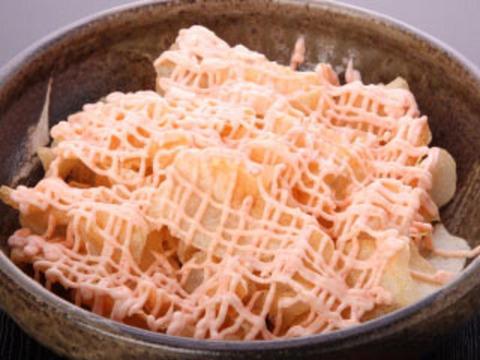手作りポテチ(明太マヨ)