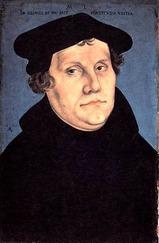 Lucas Cranach der Ältere_Martin  Luther