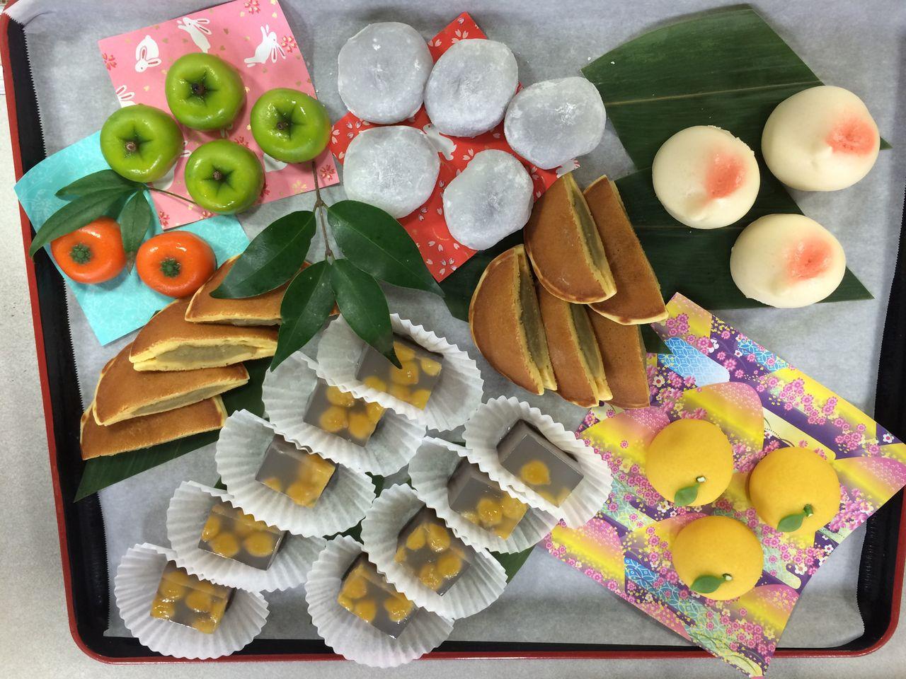 ホームステーションらいふ相武台のblog : 和菓子スイーツ ...