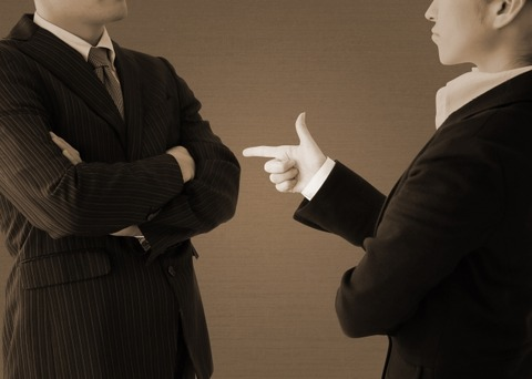power harassment claim business man and womn