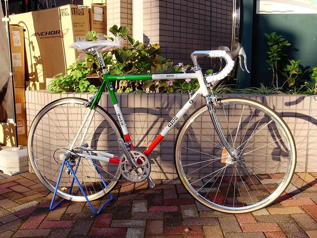 自転車の 自転車 走行会 東京 : デュラエースのWレバーを装着 ...