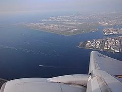 眼下の羽田空港
