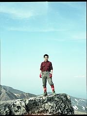 茶臼岳山頂?