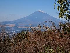 乙女峠からの富嶽