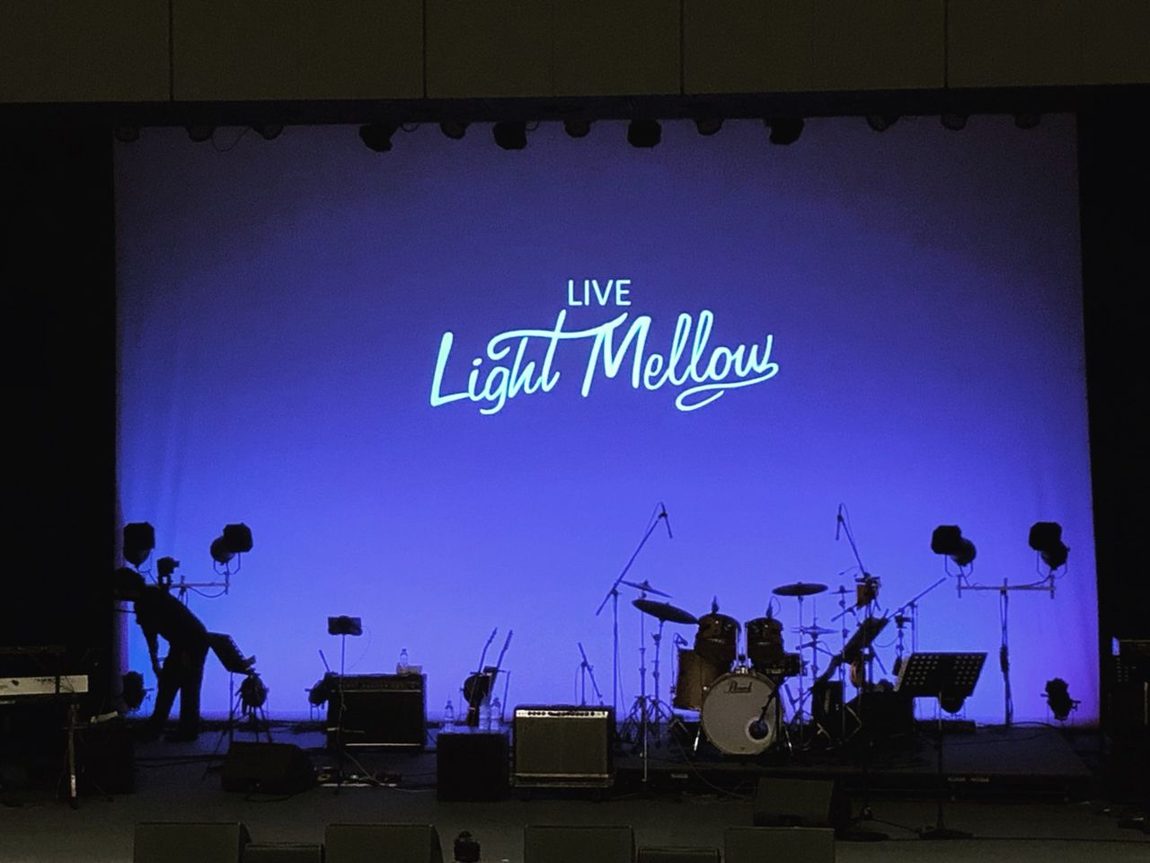 live light mellow stage