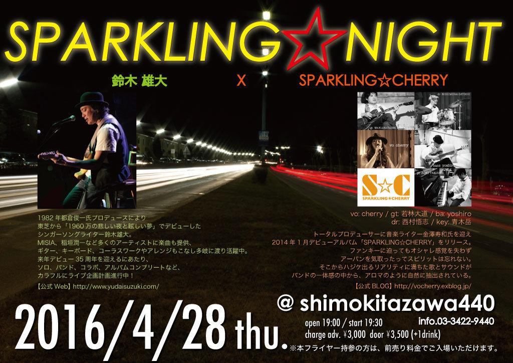 sparkling night 1604
