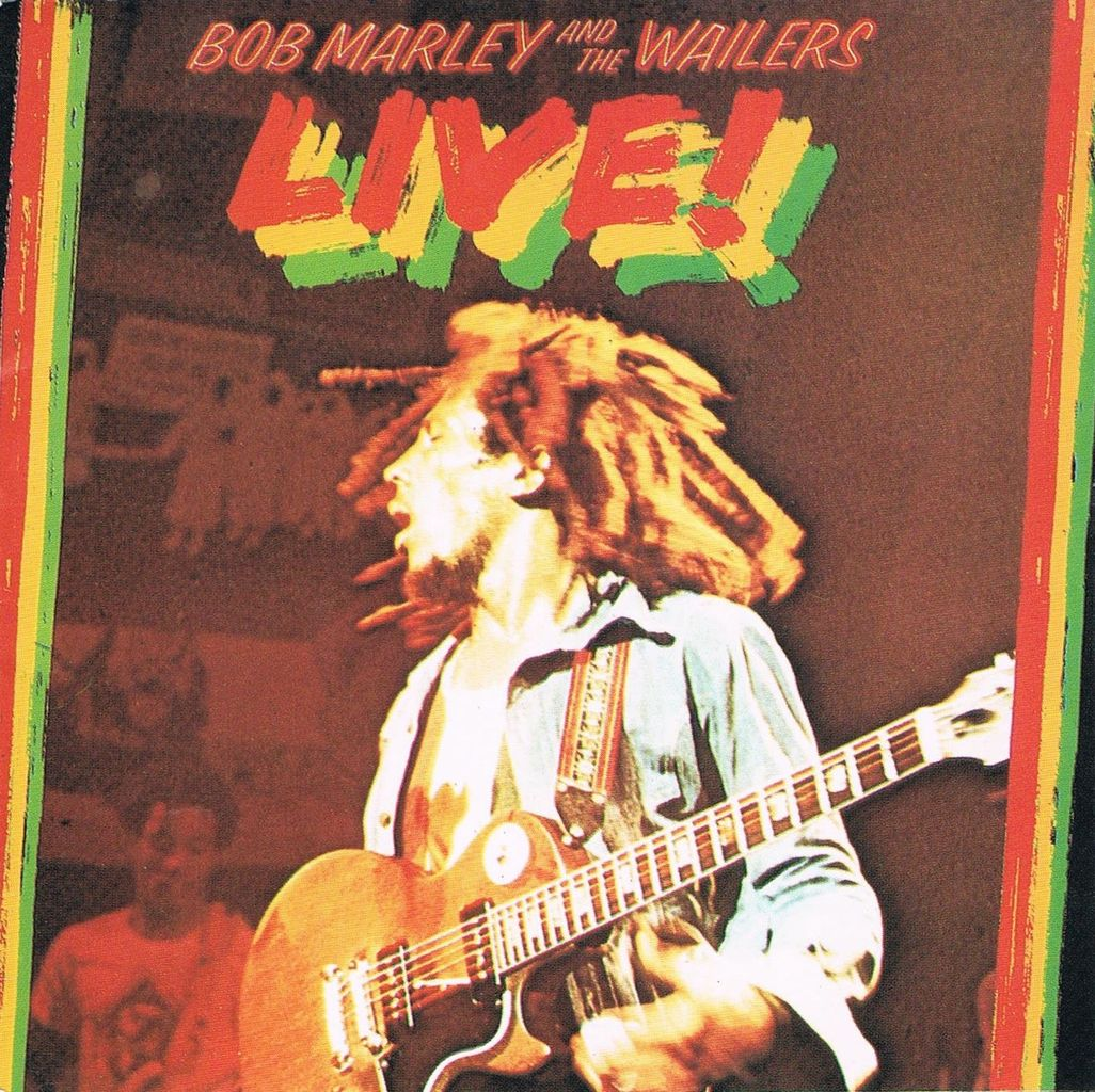 bob marley live 3lp