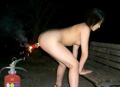 露出変態M女 (85)