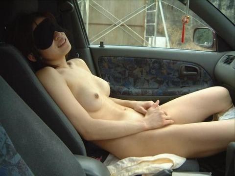 車内露出 (22)