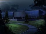 森の中にある謎の研究施設