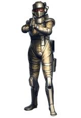 米連-兵士(女)