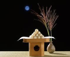 お団子と月