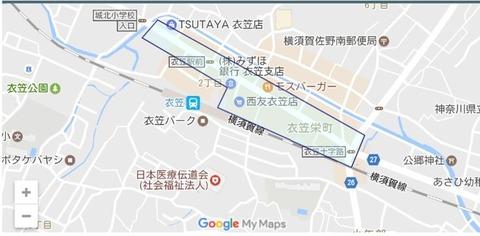衣笠商店街map