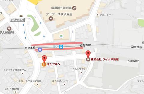 ぱんプキン 地図