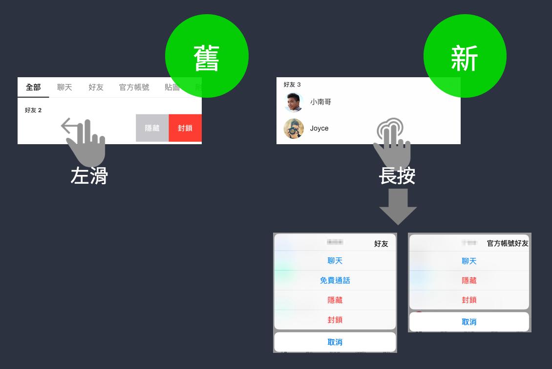 TW_Home tab blog 003 iOS左滑改長按