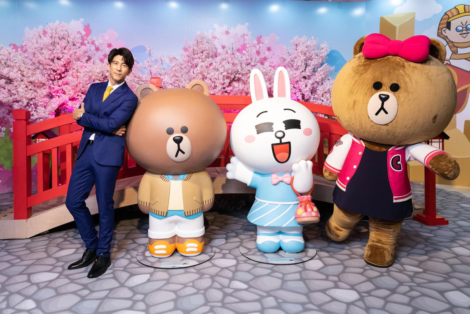 圖4-帥氣機長修杰楷環遊世界帥照大公開,與熊大、兔兔甜蜜遊日本