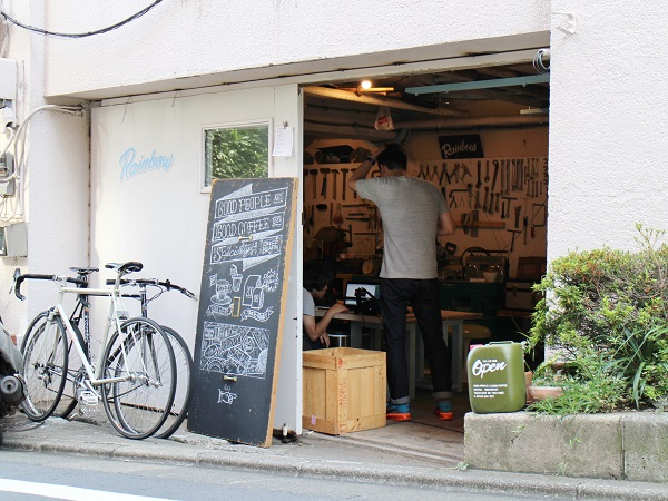 Good People&Good Coffe入り口