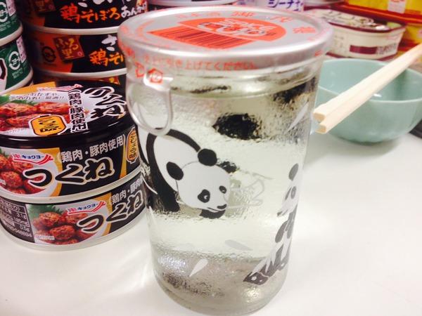 カップ酒・缶詰バー キハ パンダ日本酒